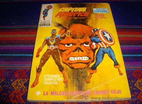VÉRTICE VOL. 1 CAPITÁN AMÉRICA Nº 21. 25 PTS. 1972. (Tebeos y Comics - Vértice - Capitán América)