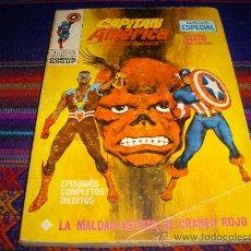 Cómics: VÉRTICE VOL. 1 CAPITÁN AMÉRICA Nº 21. 25 PTS. 1972.. Lote 37417352