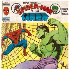 Cómics: COMIC SPIDERMAN Y LA MASA - MUNDI COMICS VERTICE, Nº 9. Lote 37523228