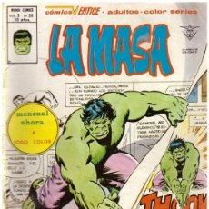 Cómics: COMIC LA MASA (HULK) - MUNDI COMICS VERTICE, VOL. 3, Nº 36. Lote 37746004