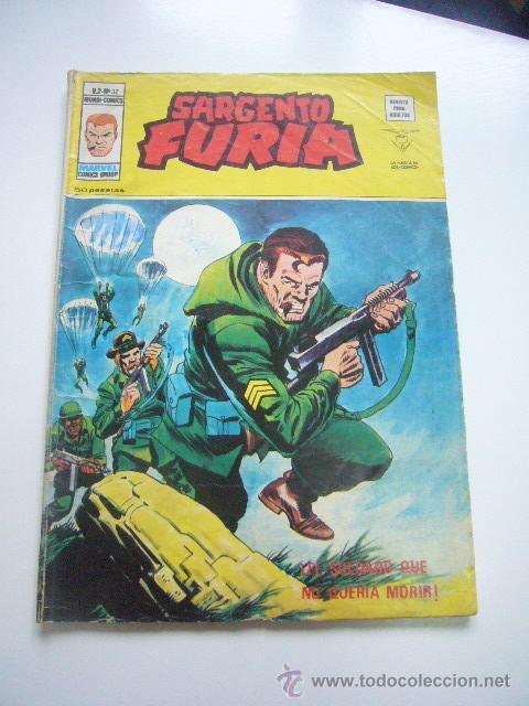 SARGENTO FURIA VOL. 2 Nº 32 VÉRTICE ÚLTIMO. 50 PTS. DIFÍCIL E3 (Tebeos y Comics - Vértice - Furia)