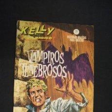 Cómics: KELLY OJO MAGICO - Nº 6 - VAMPIROS TENEBROSOS - EDICIONES VERTICE - . Lote 37548338