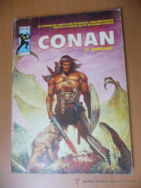 CONAN. VÉRTICE. ANTOLOGÍA DEL CÓMIC Nº 15 (Tebeos y Comics - Vértice - Conan)