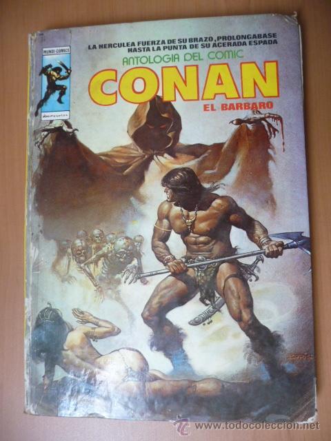 CONAN. VÉRTICE. ANTOLOGÍA DEL CÓMIC Nº 5 (Tebeos y Comics - Vértice - Conan)