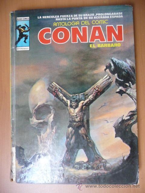 CONAN. VÉRTICE. ANTOLOGÍA DEL CÓMIC Nº 8 (Tebeos y Comics - Vértice - Conan)