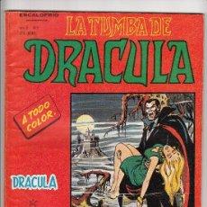 Cómics: ESCALOFRIO VOL.2 N. 1 TUMBA DE DRACULA. Lote 37738487