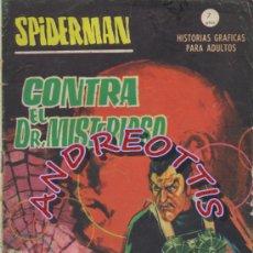 Cómics: SPIDER, VERTICE V.1 (GRAPA) N. 1 , CONTRA EL DR. MISTERIOSO. Lote 38009276