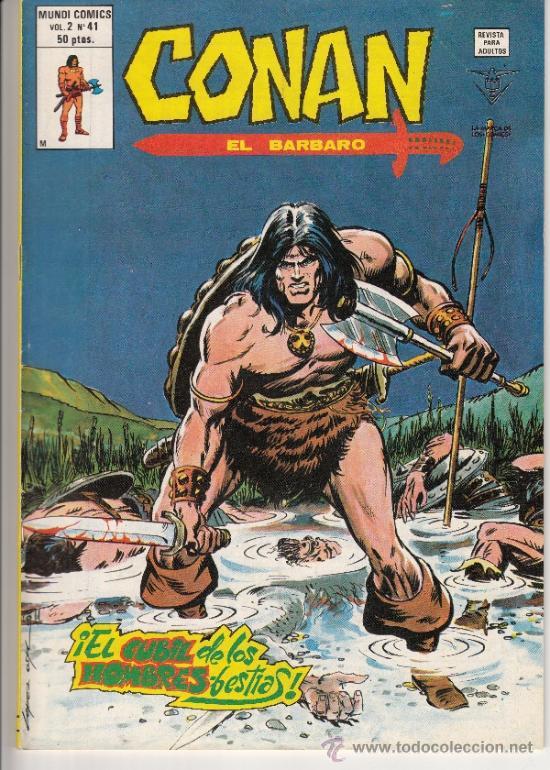CONAN - VOL. 2 - N. 41 (Tebeos y Comics - Vértice - Conan)
