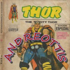 Cómics: THOR (THE MIGHTY THOR), VERTICE VOLUMEN 1, N. 1, EL PODEROSO THOR.. Lote 38262771