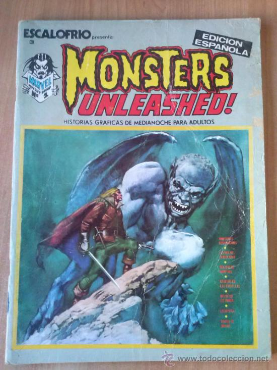 Cómics: ESCALOFRÍO Nº 3 - MONSTERS UNLEASHED! Nº 3 - Foto 1 - 38399047