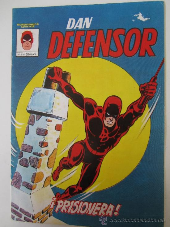 MUNDICOMICS ADULTOS - DAN DEFENSOR , NUMERO 1 , VERTICE 1981 (Tebeos y Comics - Vértice - Dan Defensor)