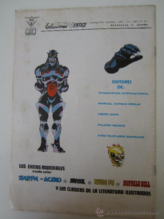 Cómics: mundicomics adultos - dan defensor , numero 1 , vertice 1981 - Foto 3 - 38610781
