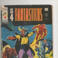 Cómics: LOS 4 FANTASTICOS V.3 Nº 16. EL TEMIDO DIABLO.VERTICE . Lote 140107280