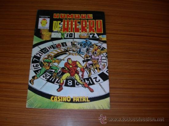 HOMBRE DE HIERRO Nº 4 DE VERTICE (Tebeos y Comics - Vértice - Hombre de Hierro)