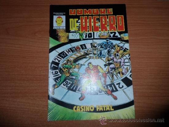 HOMBRE DE HIERRO Nº 4 EDICIONES VERTICE (Tebeos y Comics - Vértice - Hombre de Hierro)
