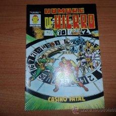 Cómics: HOMBRE DE HIERRO Nº 4 EDICIONES VERTICE. Lote 39055676