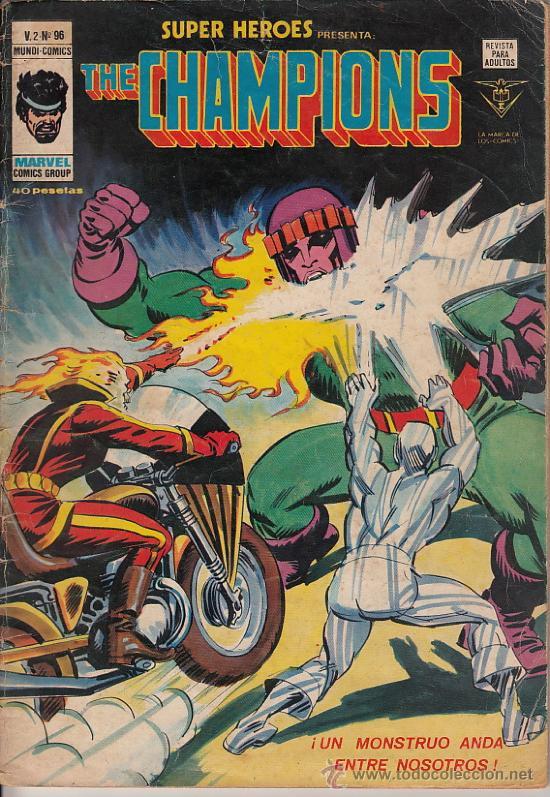 SUPER HEROES VOL.2 # 96 (VERTICE,1979) - LA COSA - LOS CAMPEONES - JOHN BYRNE (Tebeos y Comics - Vértice - Super Héroes)