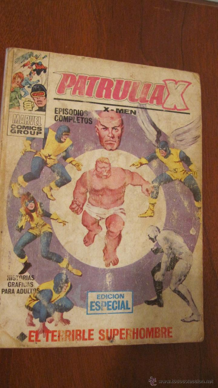 PATRULLA X VOL.1 Nº 3. COMPLETO (Tebeos y Comics - Vértice - Patrulla X)