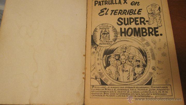 Cómics: PATRULLA X VOL.1 Nº 3. COMPLETO - Foto 4 - 39306475