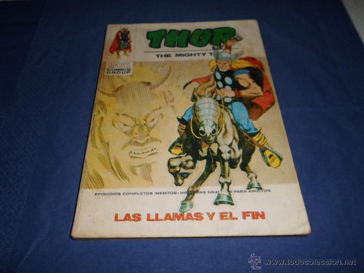 VERTICE VOL.1 THOR Nº34 (Tebeos y Comics - Vértice - Thor)