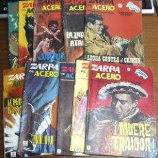 Cómics: ZARPA DE ACERO / LOTE DE 15 NÚMEROS / VÉRTICE GRAPA. Lote 39366804