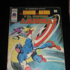 Cómics: EL HOMBRE DE HIERRO Y EL CAPITAN AMERICA - VOL. 1 Nº 11. Lote 39502046