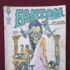 Cómics: FANTOM Nº 8. EJERCITO DE CADAVERES. EDITORIAL VERTICE, 1972. Lote 39743485