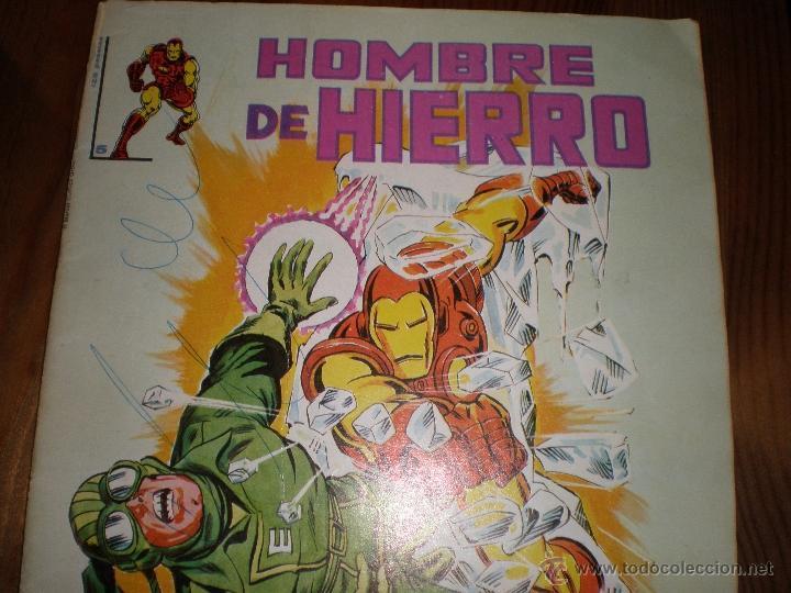 EL HOMBRE DE HIERRO,EL COMIENZO DEL INDOTERMO (Tebeos y Comics - Vértice - Hombre de Hierro)