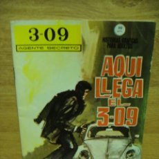 Cómics: AGENTE SECRETO 3-09 Nº 1 - VERTICE GRAPA -. Lote 39935115