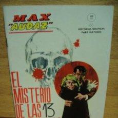 Cómics: MAX AUDAZ Nº 11 - VERTICE GRAPA -. Lote 39935288