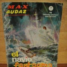 Cómics: MAX AUDAZ Nº 9 - VERTICE GRAPA -. Lote 39935298
