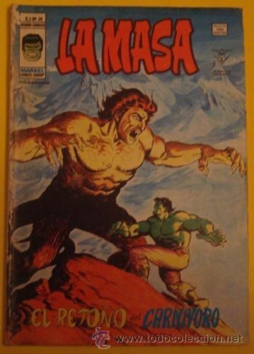 LA MASA EL RETOÑO DEL CARNIVORO NO.30 AÑO 1978 (Tebeos y Comics - Vértice - La Masa)