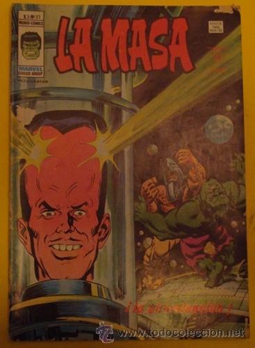 LA MASA ¡LA ABOMINACIÓN! V.3 NO.27 AÑO 1978 (Tebeos y Comics - Vértice - La Masa)
