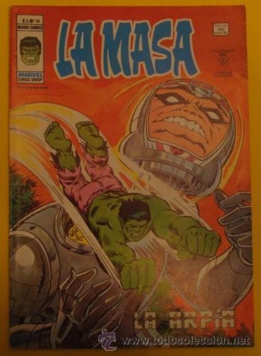 LA MASA LA ARPÍA V.3 NO.33 AÑO 1976 (Tebeos y Comics - Vértice - La Masa)