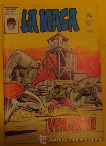 LA MASA ¡VENGANZA! NO.35 AÑO 1976 (Tebeos y Comics - Vértice - La Masa)