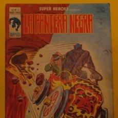 Cómics: LA PANTERA NEGRA CARRERA CONTRA EL TIEMPO V.1 NO.2 AÑO 1978. Lote 40014156
