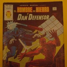 Cómics: EL HOMBRE DE HIERRO Y DAN DEFENSOR - ¡CAZA DE HOMBRE! V.2 NO.53 AÑO 1978. Lote 40015899
