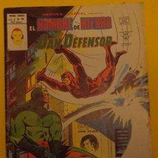 Cómics: EL HOMBRE DE HIERRO Y DAN DEFENSOR ZARPA DE GATO V.2 NO.54 AÑO 1978. Lote 40015967