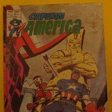 Cómics: CAPITÁN AMÉRICA - VUELVA EL POLVO AL POLVO V.3 NO.34 AÑO 1976 . Lote 40033808
