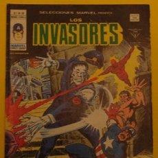 Cómics: LOS INVASORES ¡CINCO CONTRA LA MUERTE VOLANTE! V.1 NO.39 AÑO 1978. Lote 231477155