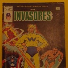 Cómics: LOS INVASORES ¡EL QUE DESTRUYE! V.1 NO.44 AÑO 1977. Lote 40034562