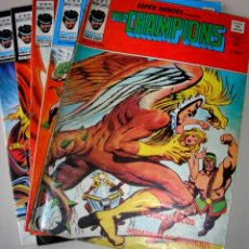 Cómics: THE CHAMPIONS. NUMEROS 75, 76, 84, 85 Y 96.. Lote 40050542