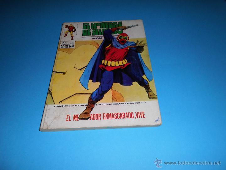 VERTICE VOL. 1 EL HOMBRE DE HIERRO Nº 31 (Tebeos y Comics - Vértice - Hombre de Hierro)