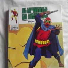Cómics: EL HOMBRE DE HIERRO Nº 31 EL MERODEADOR ENMASCARADO VIVE MARVEL COMICS GROUP EDITORIAL VERTICE . Lote 40322140
