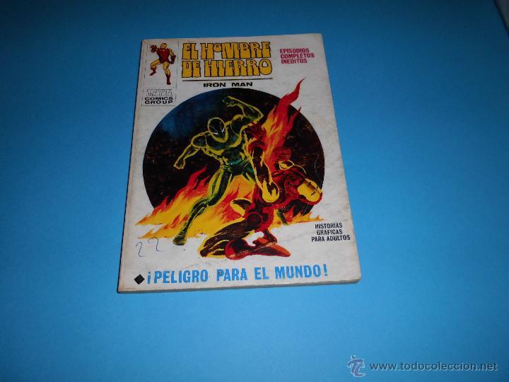 VERTICE VOL. 1 EL HOMBRE DE HIERRO Nº 23 (Tebeos y Comics - Vértice - Hombre de Hierro)