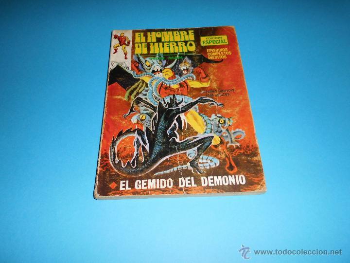 VERTICE VOL. 1 EL HOMBRE DE HIERRO Nº 20 (Tebeos y Comics - Vértice - Hombre de Hierro)