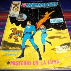 Cómics: VÉRTICE VOL. 1 LOS 4 FANTÁSTICOS Nº 7. 1970. 25 PTS. MISTERIO EN LA LUNA.. Lote 40336563