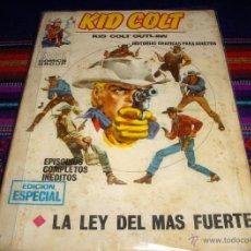 Cómics: VÉRTICE VOL. 1 KID COLT Nº 2. 25 PTS. 1971. LA LEY DEL MÁS FUERTE. Y MUY DIFÍCIL!!!. Lote 40570081