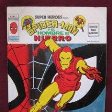 Cómics: SUPER HEROES PRESENTA SPIDERMAN Y EL HOMBRE DE HIERRO Nº 5. V. 2 VERTICE 1974. VOL.2 TEBENI MBE. Lote 40574775