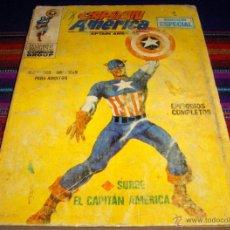 Cómics: VÉRTICE VOL. 1 CAPITÁN AMÉRICA Nº 1. 1969. 25 PTS. SURGE EL CAPITÁN AMÉRICA. DIFÍCIL!!!. Lote 40587685